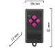 Dickert FHS10-01 Handsender, 1-Kanal, 40 MHz FM