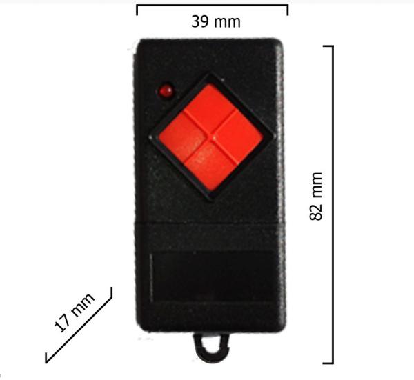 Dickert MAHS40-01 Handsender, 1-Kanal, 40 MHz